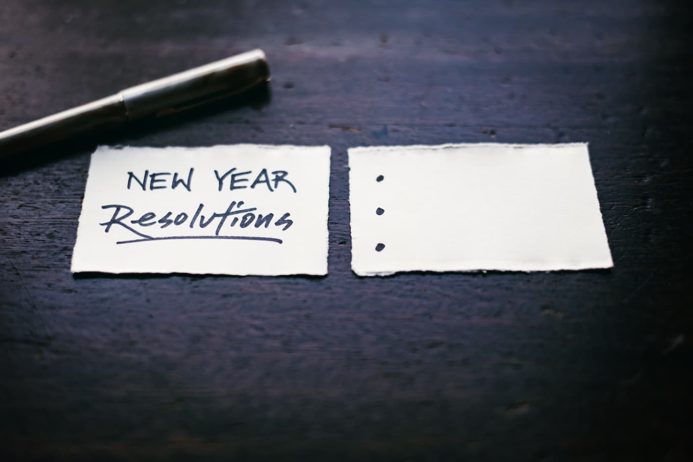 New Year Healthy Resolutions