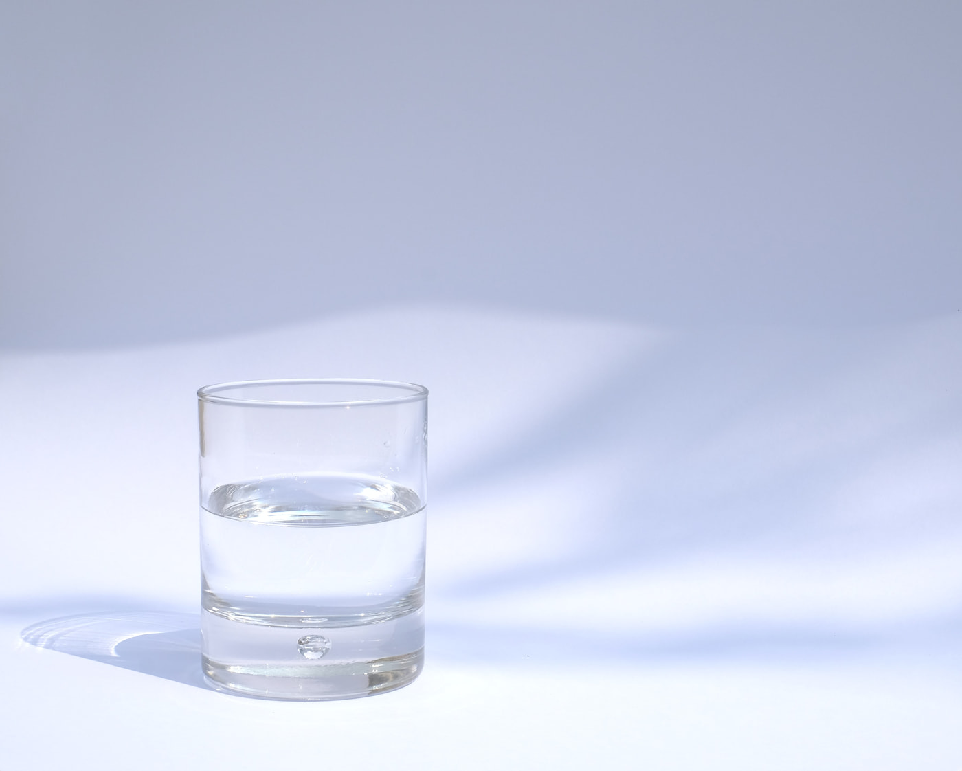 staying hydrated by drinking water